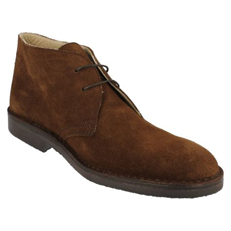 mens suede ankle boots mens loake brown suede ankle boots style ebay