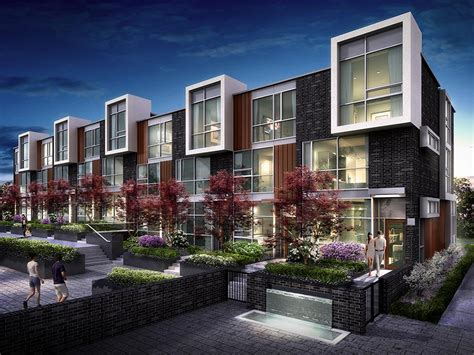 Duplex Houses by 101 Erskine Offers High Rise Views And Ground Level