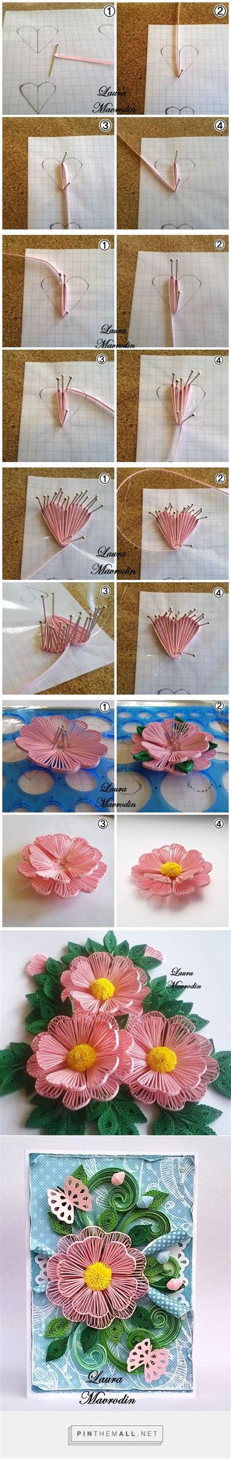 quilling kwiaty tutorial 489 best images about quilling tutorials videos