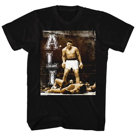 Muhammad Ali Black Shirt muhammad ali shirt holler at your boy black t shirt
