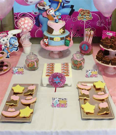 Sheriff Callie Decorations by Sheriff Callie Birthday Ideas Photo 3 Of 14