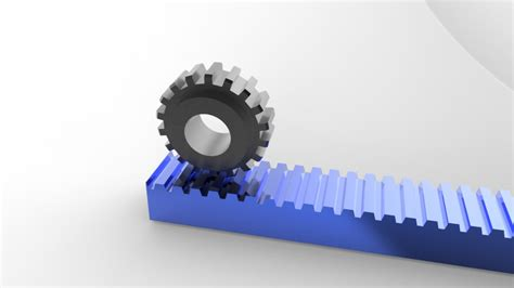 Rack And Pinion Design by Request Rack And Pinion Ptc Creo Parametric 3d Cad