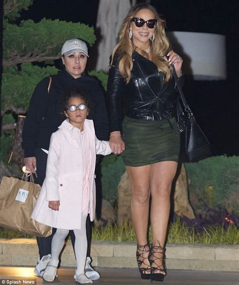 den skirts for 47 yr old mariah carey enjoys dinner with bryan tanaka and twins
