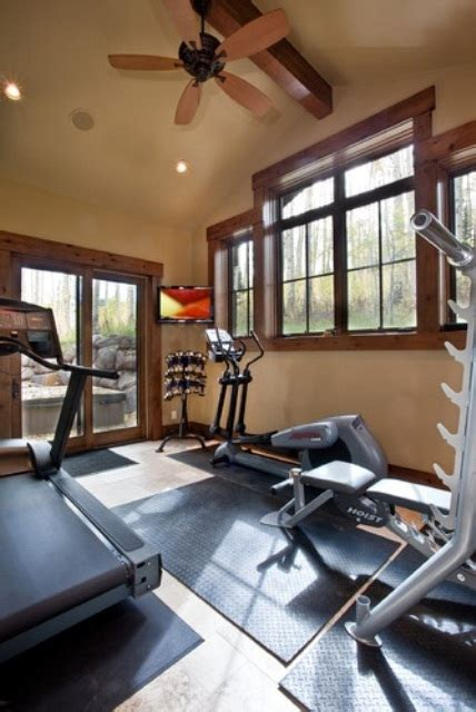 home gym design ideas 58 well equipped home gym design ideas digsdigs