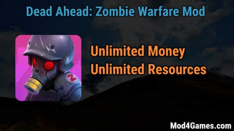 mod game unlimited money dead ahead zombie warfare archives mod4games com