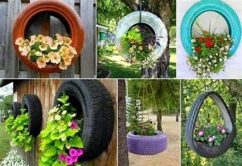Garden Recycle Ideas Upcycled Garden Decor Projects Recycled Things