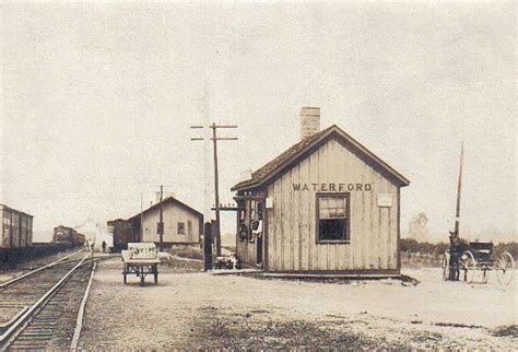 depot waterford michigan early 1900s