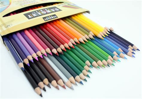 what colored pencils are best for coloring books sargent 50 count assorted colored pencils for
