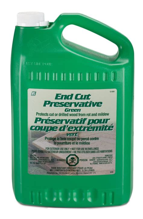 recochem end cut preservative green 3 78 l the home