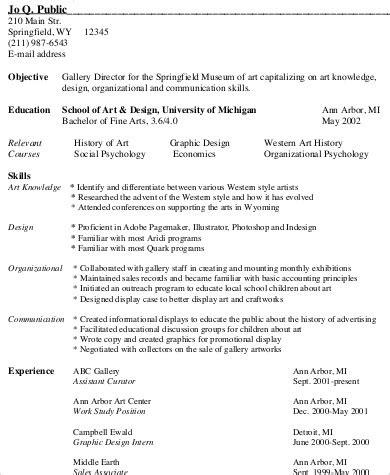 sle resume 9 exles in word pdf
