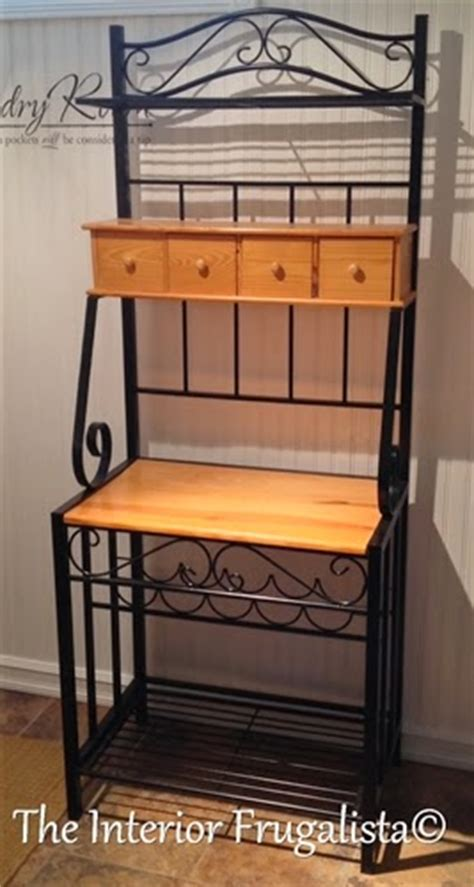 Painted Bakers Rack by Painted Baker S Rack The Interior Frugalista Painted