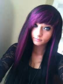 black with purple hair emo purple hair dye picture di candia fashion