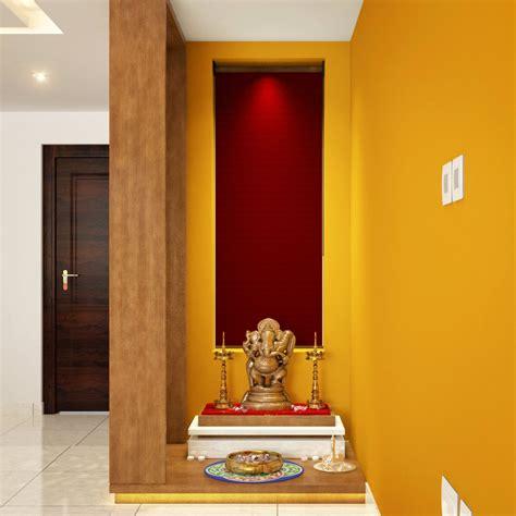 niche converted  stylish pooja corner pooja room