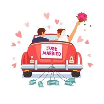 Just Married Auto Kostenlos by Just Married Vektoren Fotos Und Psd Dateien Kostenloser