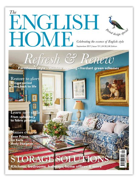 english home design magazines the english home magazine announces editorial changes fashion insight