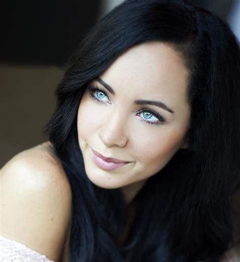 Bkack Hair Actress | women eyes actress ksenia solo black hair wallpapers