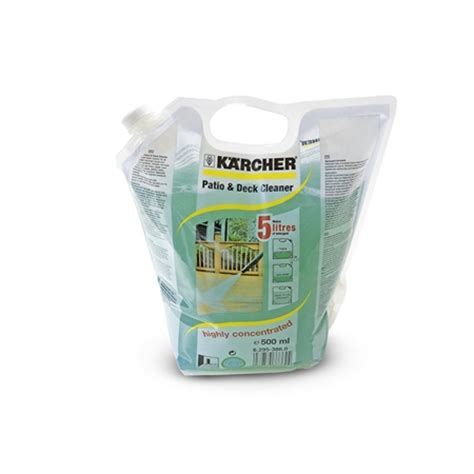 karcher patio deck cleaner ml concentrate tools