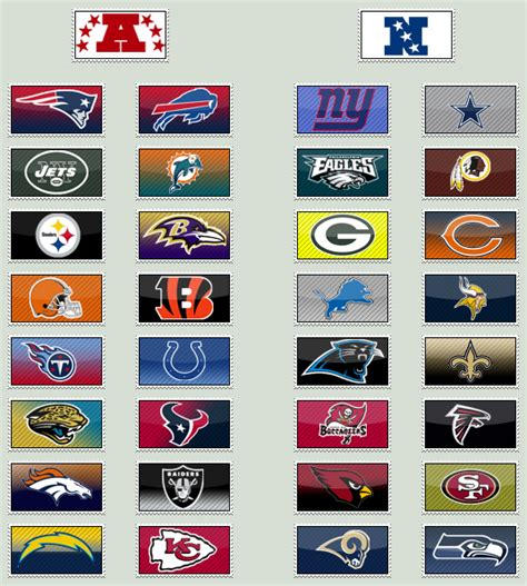 football team colors nfl team sts by themaskedcrusader on deviantart