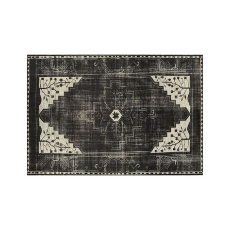 10 x 14 crate and barrel rugs anice black knotted 10 x14 rug crate and