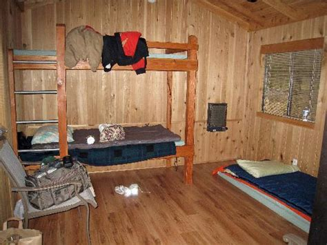 inside view of a burney falls cabin picture of mcarthur