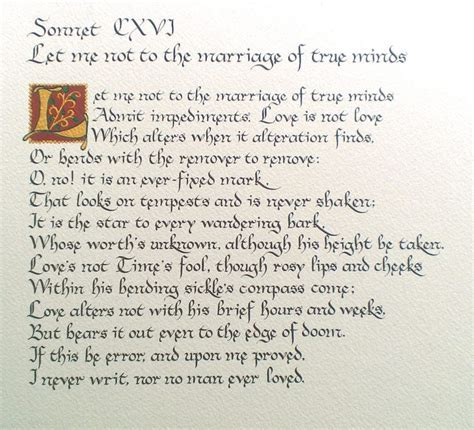 The 25  best Sonnet 116 ideas on Pinterest   Shakespeare