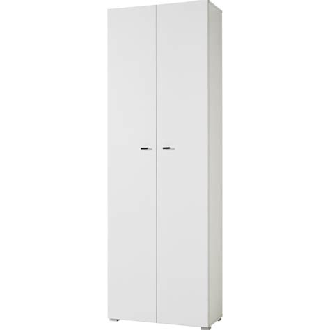 White Office Cabinet With Doors Montreal Home Office Cabinet In White With 2 Doors
