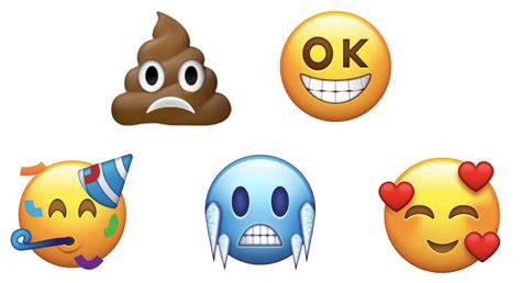 emoji new frowning poo and 66 other new emojis proposed for