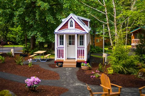 scarlett tiny house at mt hood tiny house village mt hood tiny house village scarlett tumbleweed 0006