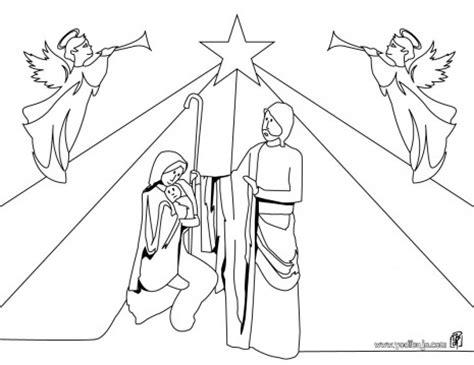 imagenes sencillas del nacimiento de jesus dibujos infantiles del portal de bel 233 n para pintar