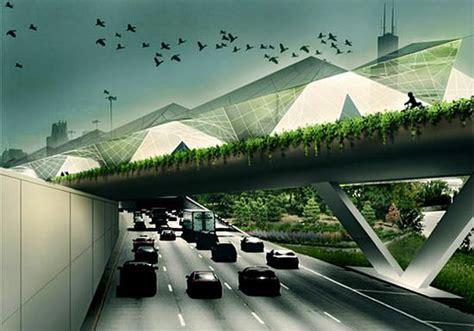 Feeder Supply Highway Feeder Transforms Elevated Highway Into Farmhouse