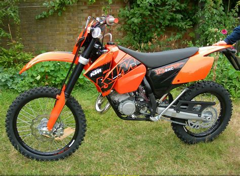 2001 Ktm 125 Exc 2007 Ktm 125 Exc Pics Specs And Information