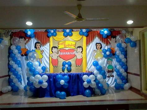 simple balloon decoration for birthday party at home decoration simple party decorations ideas party