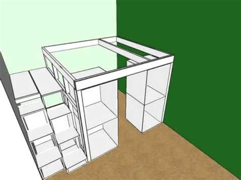 ikea kitchen cabinet bed amazing bed made from ikea kitchen cabinets youtube
