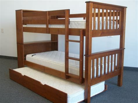 Bookcase Bunk Beds save on bookcase bunk bed with trundle light brown