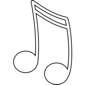 Treble Clef Coloring Page Clipart Best Treble Clef Template