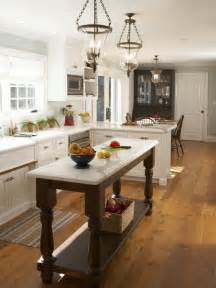 pictures of islands in kitchens narrow kitchen island houzz