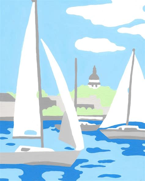 boat paint kit sailboats paint by number kit