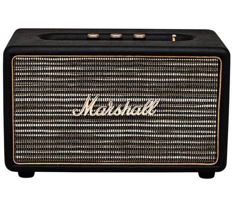 Speaker Marshall buy marshall acton bluetooth wireless speaker black