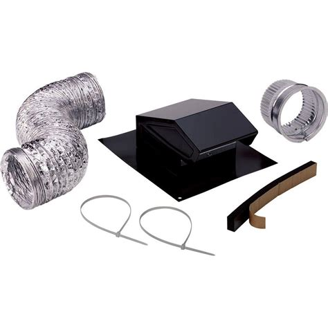 venting fan through roof broan roof vent kit rvk1a the home depot