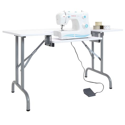 folding sewing machine table folding multipurpose sewing table