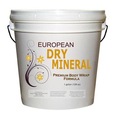 Mineral Detox Wrap by European Mineral Wrap Formula Wrap