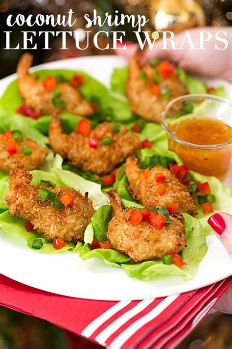 appetizers shrimp appetizer coconut shrimp lettuce wraps pizzazzerie