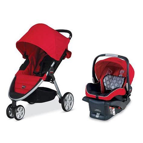 car seat and stroller together britax b agile travel system stroller britax