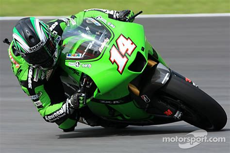 Kaos Kawasaki Racing Abu randy de puniet kawasaki racing team at malaysian gp