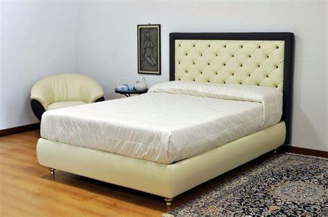 letto contenitore alla francese letto imbottito moderno in vera pelle con testata in capitonn 233