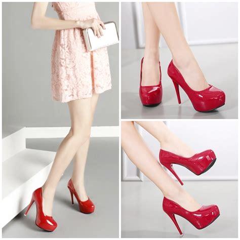Sepatu Hels Import jual shh5681 sepatu heels import 12cm grosirimpor