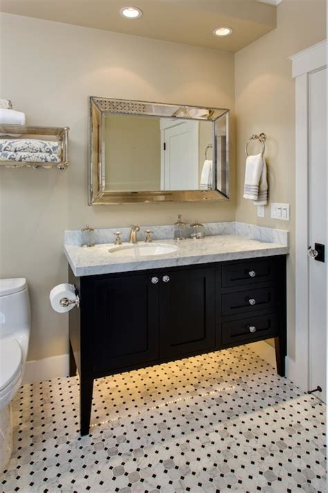 black vanities for bathrooms black bathroom vanity transitional bathroom latala homes