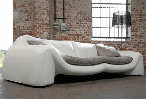 trendmanufaktur sofa megasofa trendmanufaktur in wei 223 mit grau m 214 bel