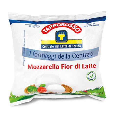 fior di latte valori nutrizionali mozzarella fiordilatte centrale latte di torino