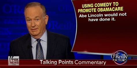 o reilly lincoln ca bill o reilly knocks obama s comedic move but lincoln s